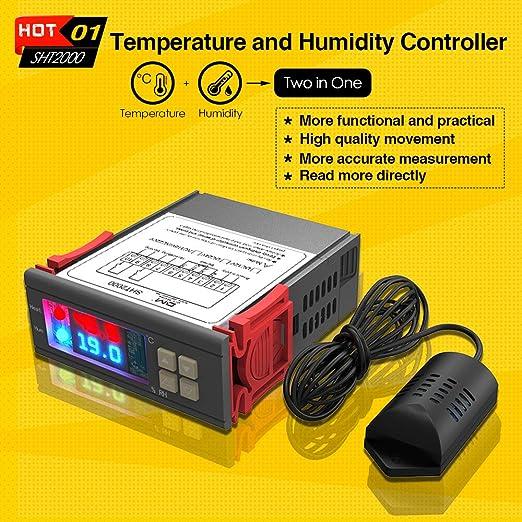 ... de uso general Refrigeración Humidificación Deshumidificación Alta precisión para calentador de agua Refrigerador: Amazon.es: Bricolaje y herramientas