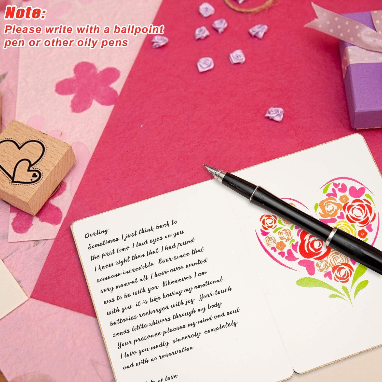 Carte de No/ël Carte de Voeux en Bois Bambou Fait /à la Main Carte pour Carte Danniversaire Carte Postale en Bambou Faite /à la Main Avec une Enveloppe Unique Carte de Voeux Carte de Mariage