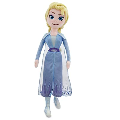 Disney Elsa Plush Doll – Frozen II – Medium – 18'': Toys & Games