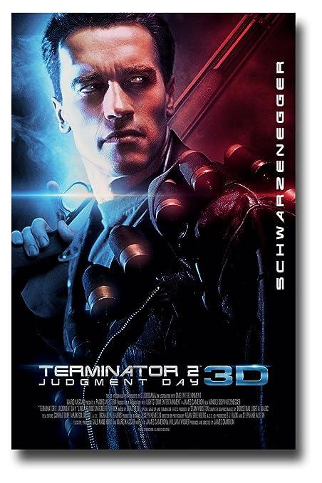 Terminator 2 Poster Movie Promo T2 11 X 17 Inches Arnold Schwarzenegger
