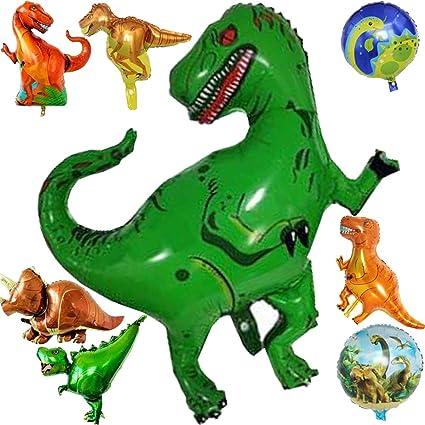 3 X Folienballon Tyrannosaurus Tier Dinosaurus Heliumballon Luftballon Dinosaur