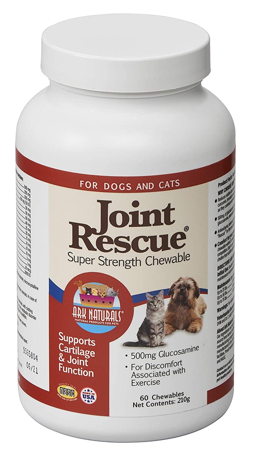 Ark Lighting Joint Rescue for Dogs and Cats Super Strength 60 Chewable Tablets
