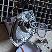 H4 LED, WZTO 12000LM Bombilla H4 led Coche Faros Delanteros 70W (35 X 2) 6000K Bombilla Kit IP67 Impermeable ...