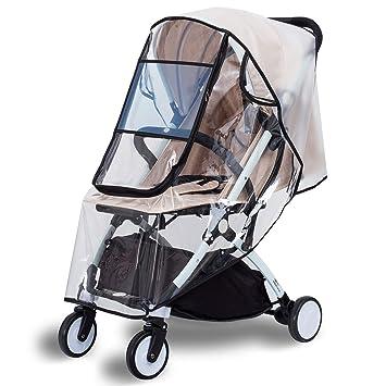 Universal Pushchair Buggy Stroller Rain Cover Baby Pram Wind Shield Protector