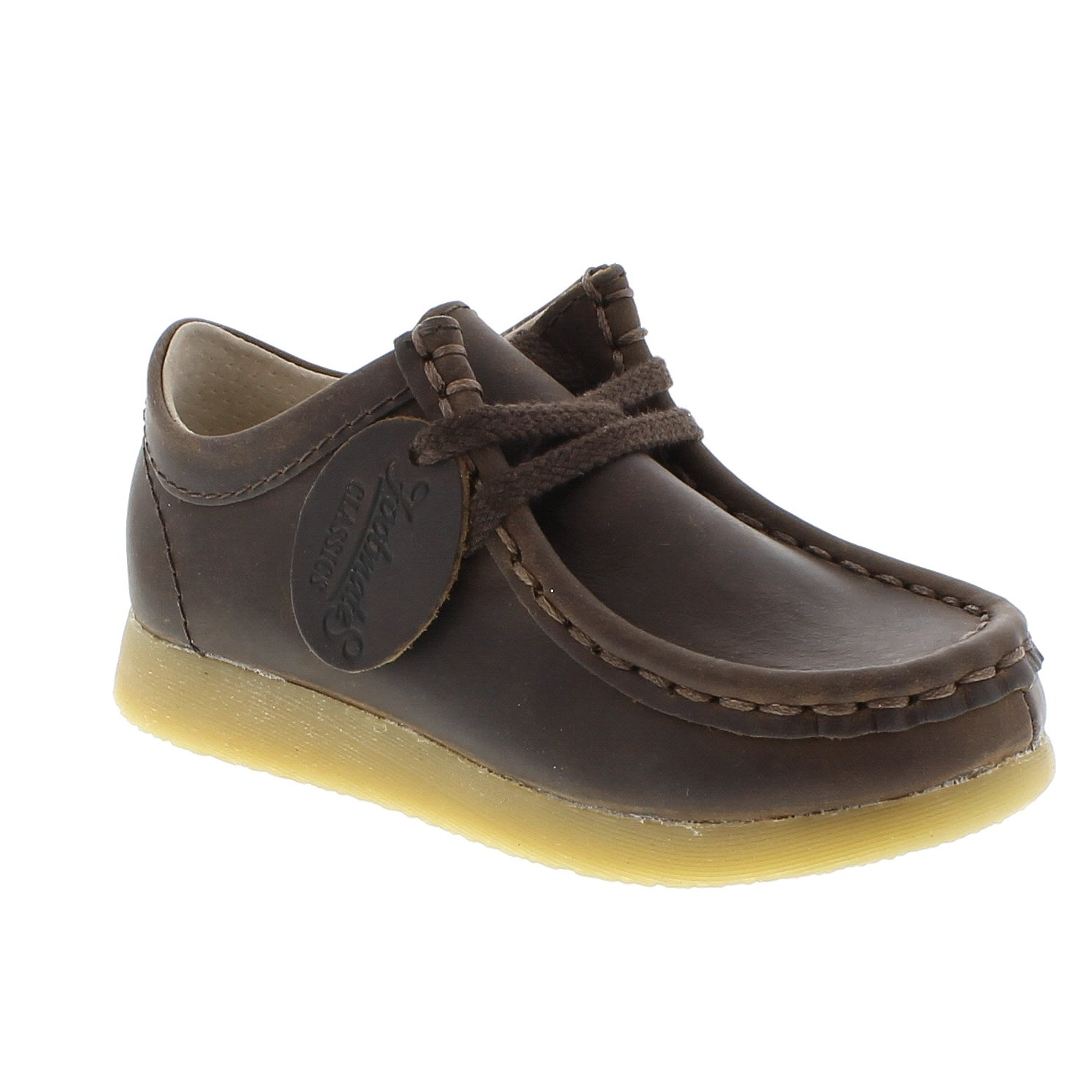 FOOTMATES Wally Low Wallabee Oxford Brown Oiled - 9125/12.5 Little Kid M/W by FOOTMATES (Image #3)