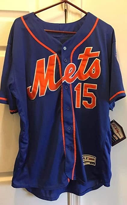 best loved 1f803 4aa3c Tim Tebow Autographed Signed New York Mets Majestic Jersey ...