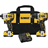 DEWALT XTREME 2-Tool 12V Power Tool w/2-Batteries + Reciprocating Saw