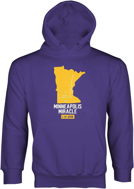 Minneapolis Miracle Sweatshirt Hoodies Vikings Hoodie Skol
