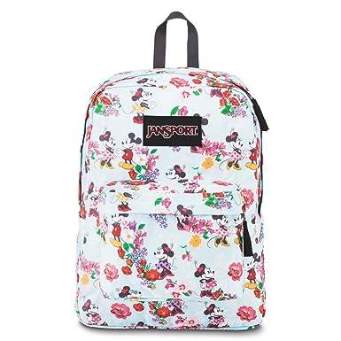 Amazon.com : JanSport Disney Superbreak Backpack (Blooming Minnie ...