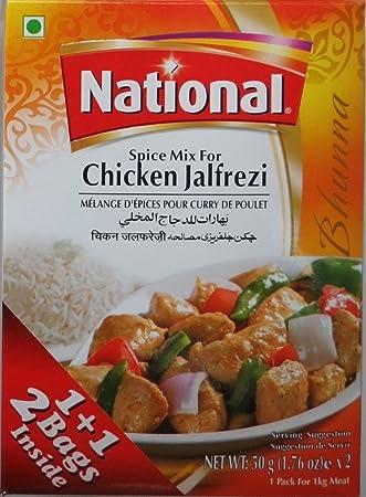Amazon National Chicken Jalfrezi Masala 100 Gms 4 Pack