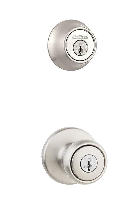 img buy Kwikset 96900-381 690T 15 SMT BBPKG Satin Nickel Tylo Entry Combo Set,