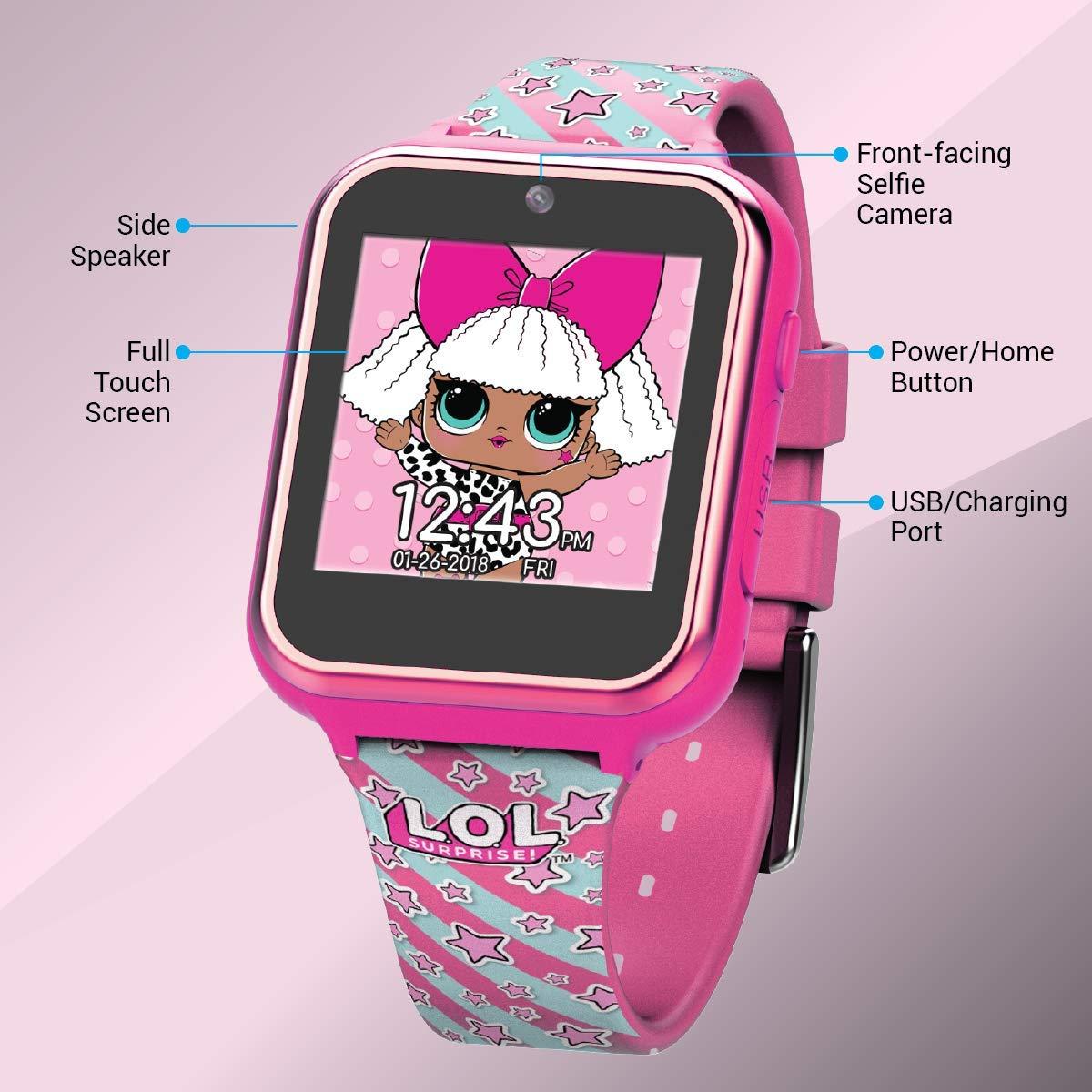 Amazon.com: L.O.L. ¡Sorprenda! Reloj de pantalla táctil con ...
