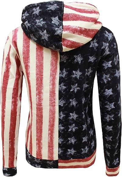 Thin Blue Line Distressed American Flag Hoody Crewneck Sweatshirt Virginia