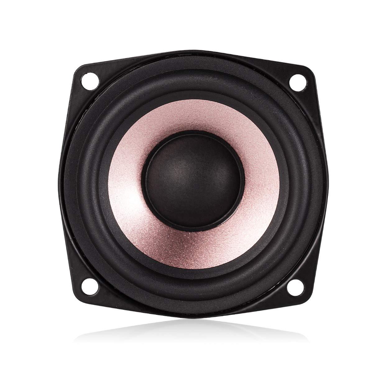 Nobsound 1PC 2.5'' inch Hi-Fi Desktop Full-Range Speaker High Sensitivity Speaker (4ohm) by Douk Audio (Image #1)