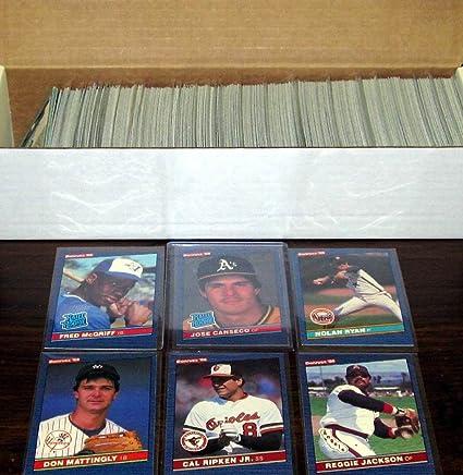 Amazoncom 1986 Donruss Baseball Complete Factory Set 660