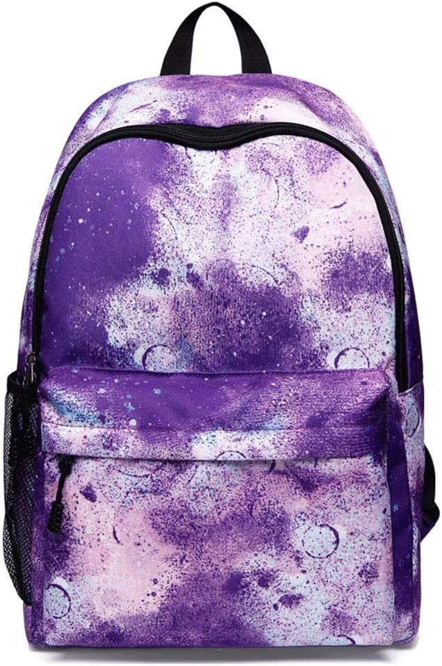 Color : Purple Anti Theft Water Resistant College Computer Bag,Travel Laptop Backpack,with USB Charging Port