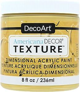 Decoart Texture Acrylics 8oz HarvstGld, None