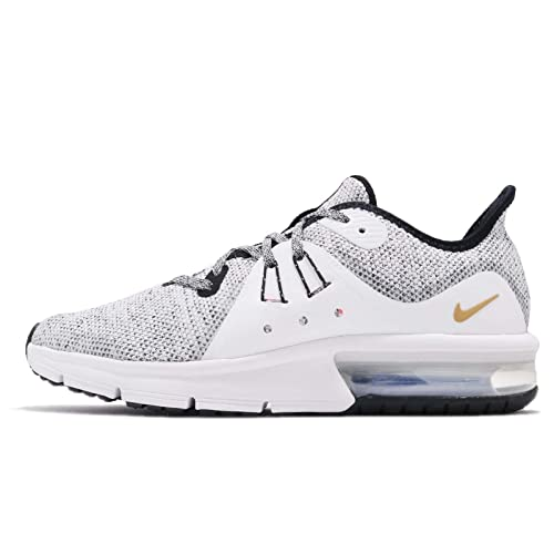 Nike Air Max Sequent 3 Black White Bianco Nero EU 38 US 5.5