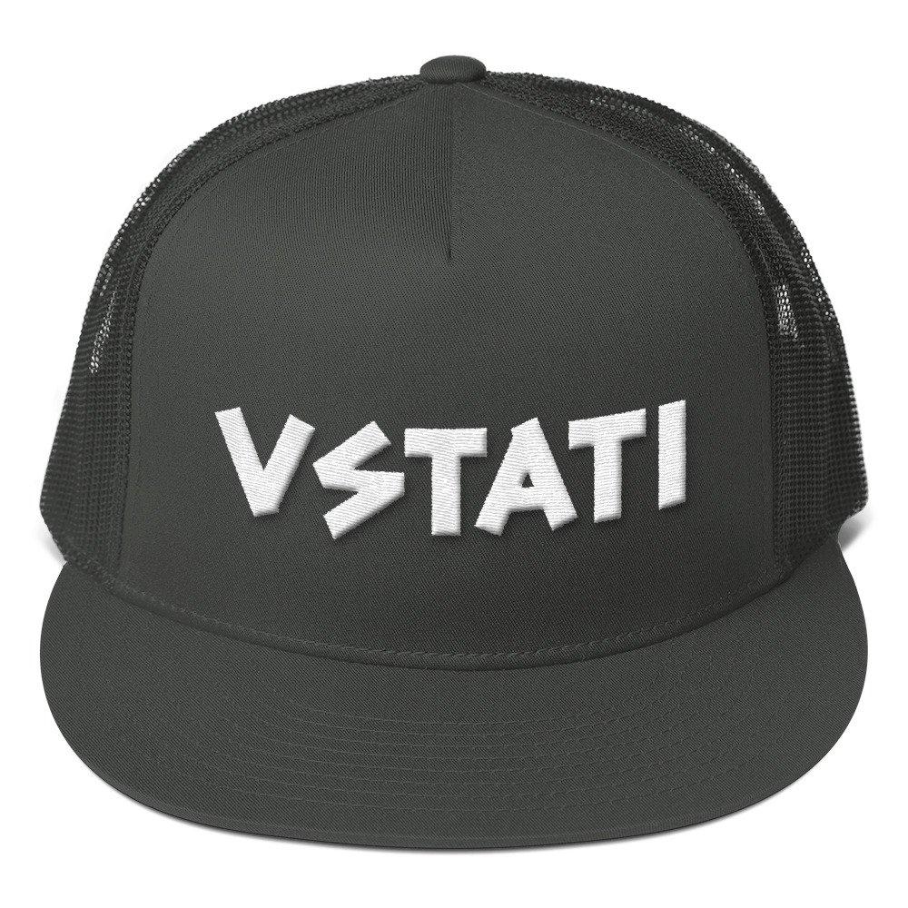 f180b33b7b7 VSTATI Original Snapback Flat Brim Adjustable Cap - Punk Rock Trucker Hats  - Surf Hats - Skate Hats - Punk Hats - Streetwear Hats - Baseball Caps at  Amazon ...