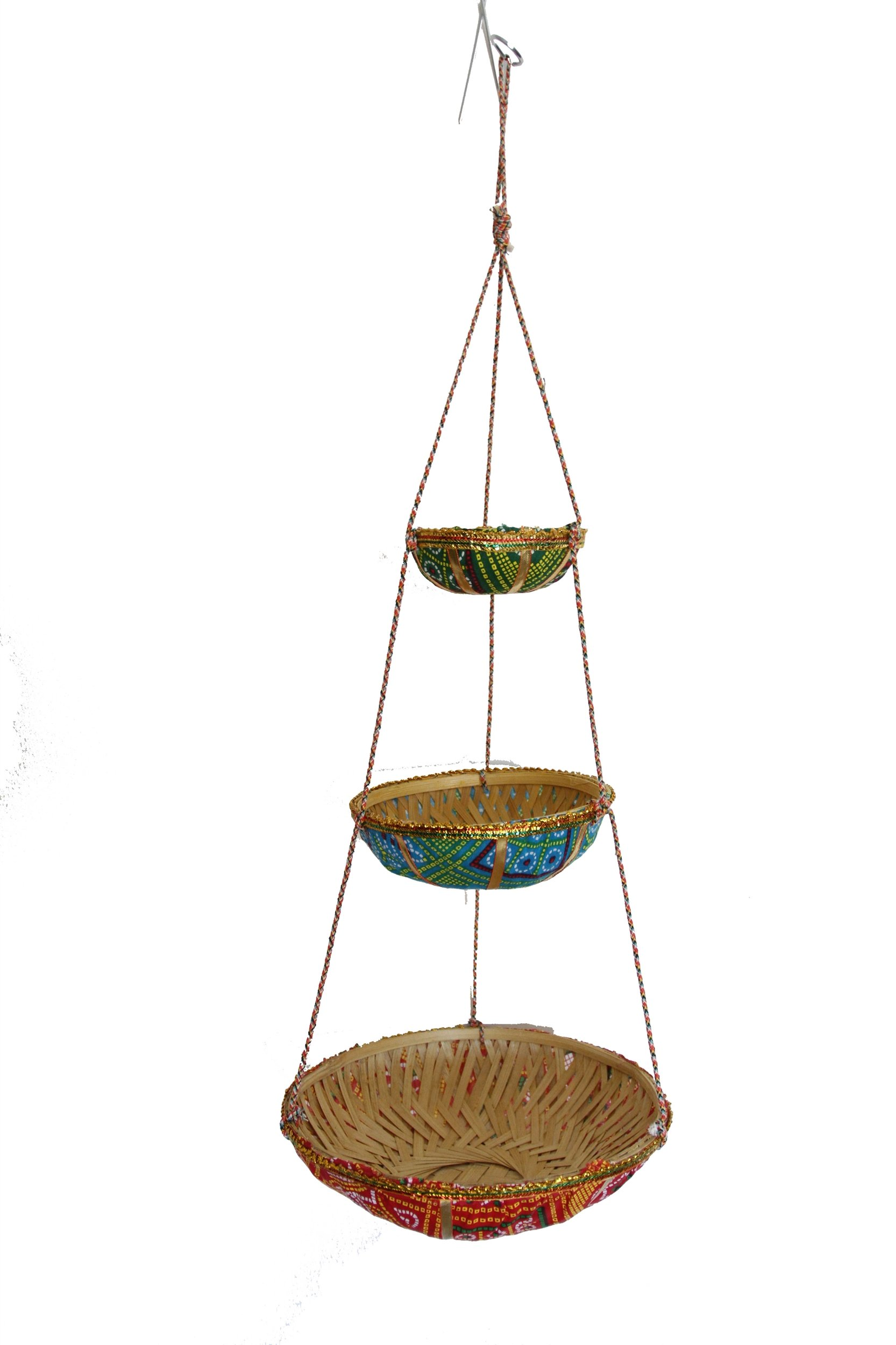 Mira Fair Trade 3 Tier Hanging basket