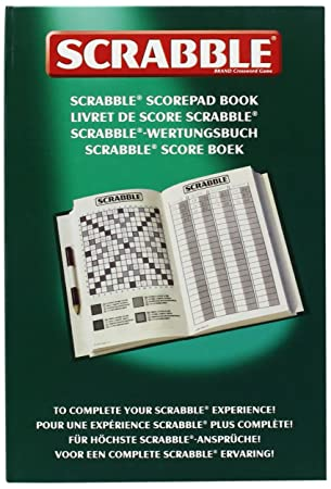 Tinderbox Games Scrabble Score Pad AmazonCoUk Toys  Games