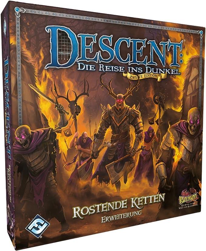 Fantasy Flight Games FFGD1336 Descent 2. Ed. - Extensión de Cadenas oxidadas.: Amazon.es: Juguetes y juegos