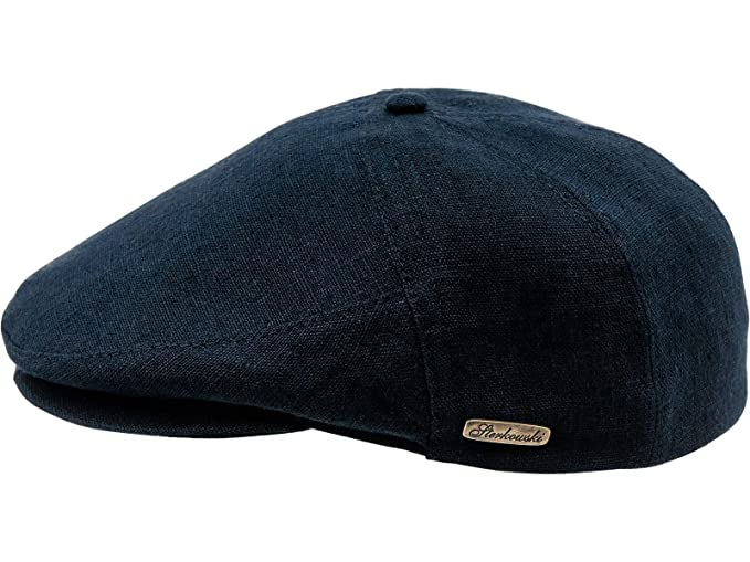 e633e18f4 Sterkowski Light Breathable Linen Summer 5 Panel Flat Cap