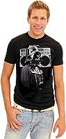 Star Wars Darth Vader Boombox Retro Adult Black T-shirt
