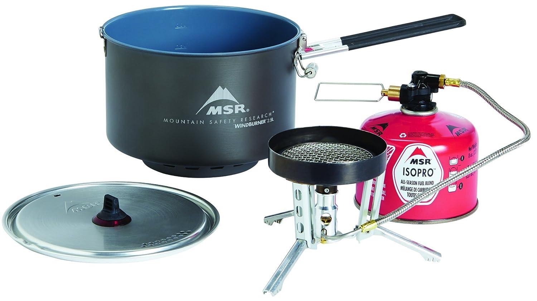 Msr WindBurner Group System black/silver 2019 camping stove 10367