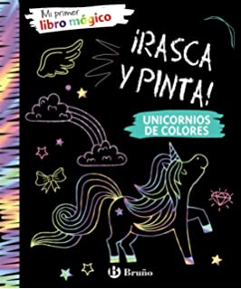 Colorea y crea tu pop-up. Unicornios Castellano - A Partir ...