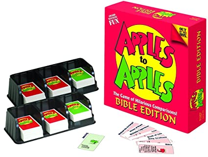 Apples to apples bible edition card list