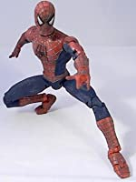"Marvel Legends SPIDER-MAN Review (movie version 1 sam raimi) 6"" inch action figure toy"