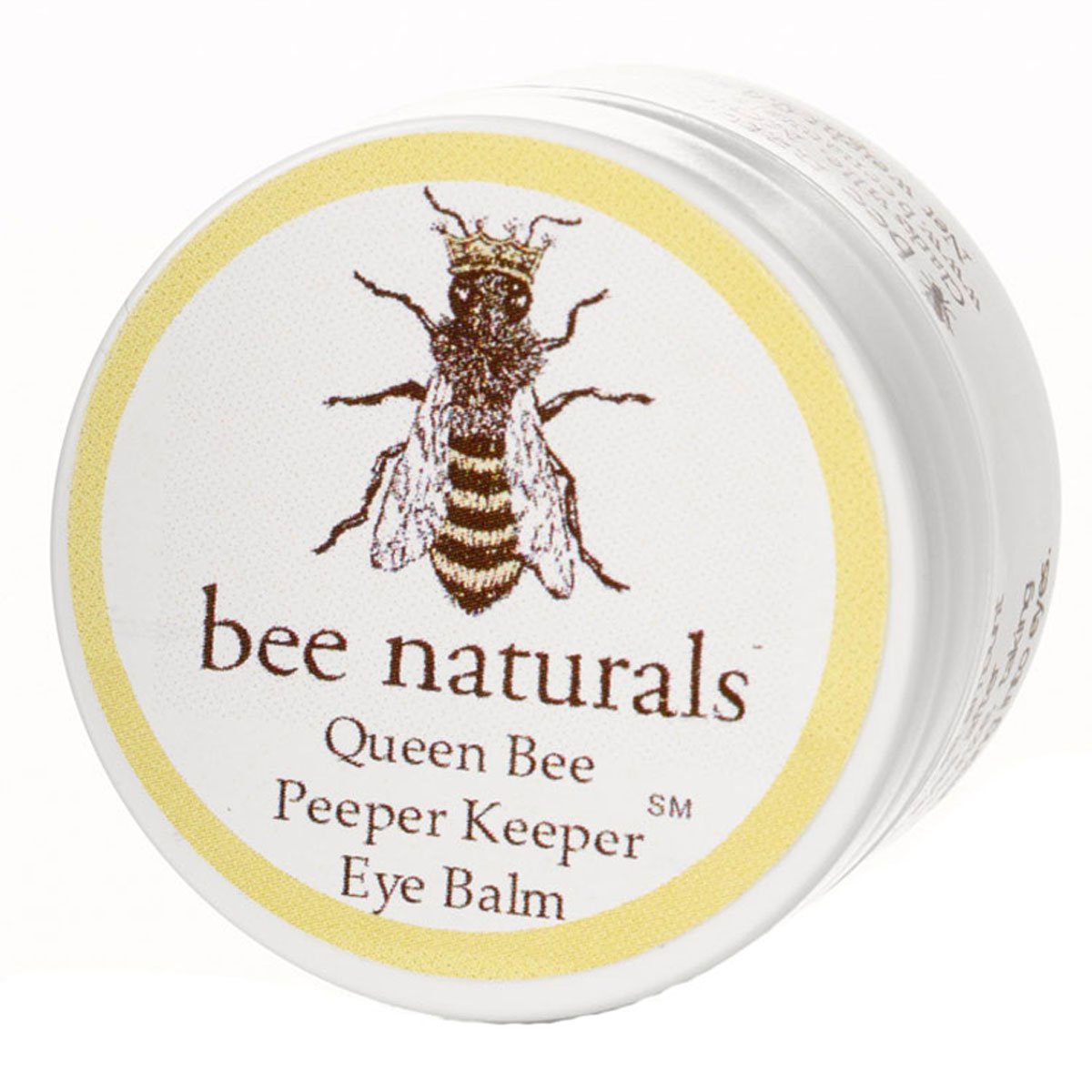 Queen Bee Naturals Best Eye Balm Peeper Keeper - Eyelid Cream Helps Reduce Crows Feet, Wrinkles & Fine Lines - Pure Anti Aging Restorative Moisturizes Your Skin - Vitamin E + 10 Organic Nutrient Oils by Bee Naturals