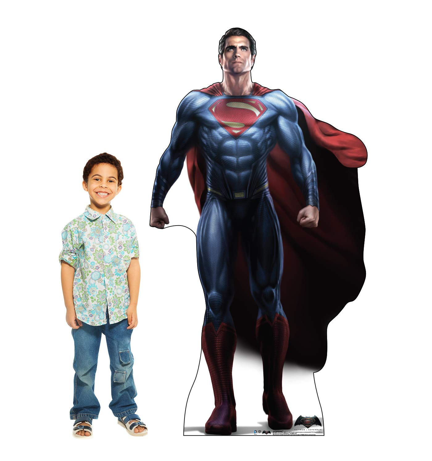 Advanced Graphics Superman Life Size Cardboard Cutout Standup - Batman V Superman: Dawn of Justice (2016) by Advanced Graphics (Image #3)