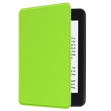 Greetuny 1pcs 2018 Kindle Paperwhite 4 Funda Inteligente Cuero ...