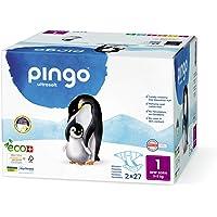 Pañales ecológicos Pingo talla 1 New born (2-5