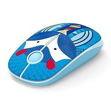 Jelly Comb Ratón Inalámbrico, Ratón Inalámbrico de 2,4 GHz para Ordenador Portátil/Tableta, Preciso y Silencioso (Hámster): Amazon.es: Electrónica