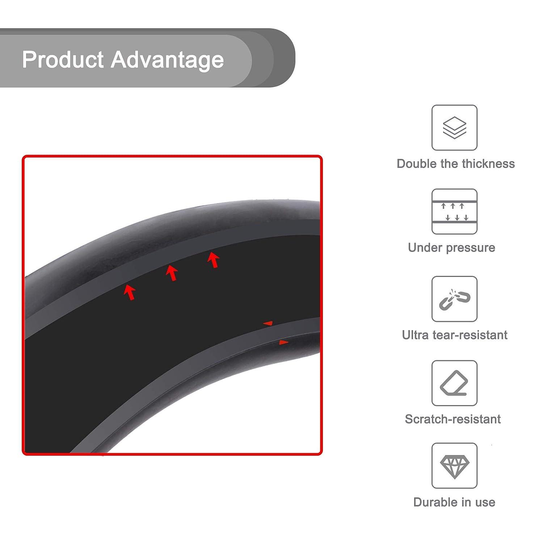 2X 2 Pneu de Rechange pour Xiaomi M365 TOMALL 8,5 Pouces /à Double /épaisseur de Chambre /à air Tubes Pneus Pneu en Caoutchouc de Scooter /électrique 8 1