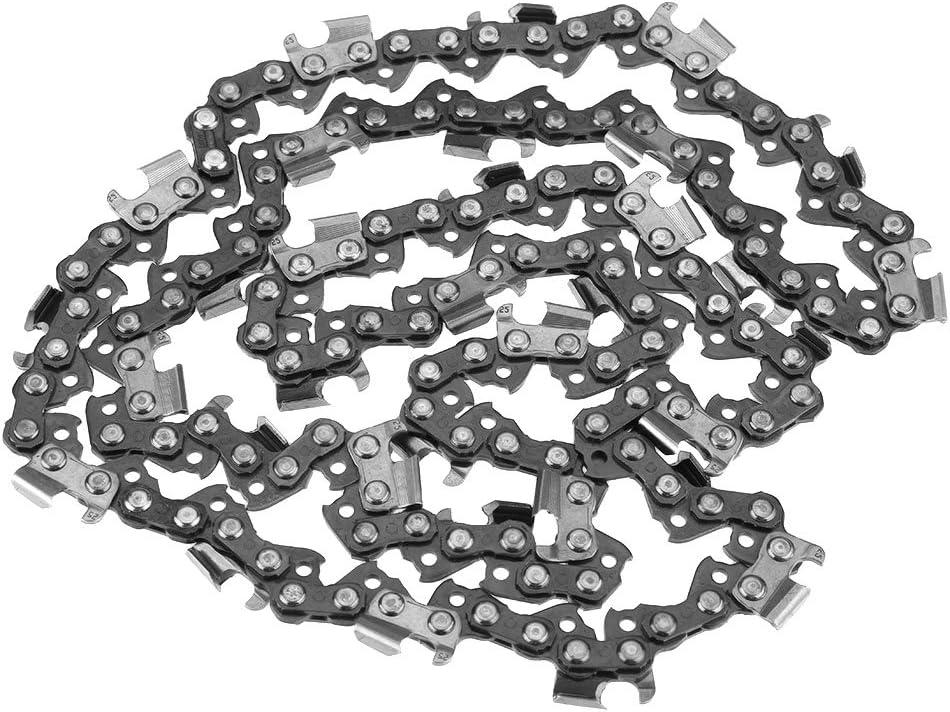 Aramox Cadena de Sierra, Cadena de reemplazo Durable de Metal de 16 Pulgadas, 325 Sierras de Repuesto, motosierras para Stihl