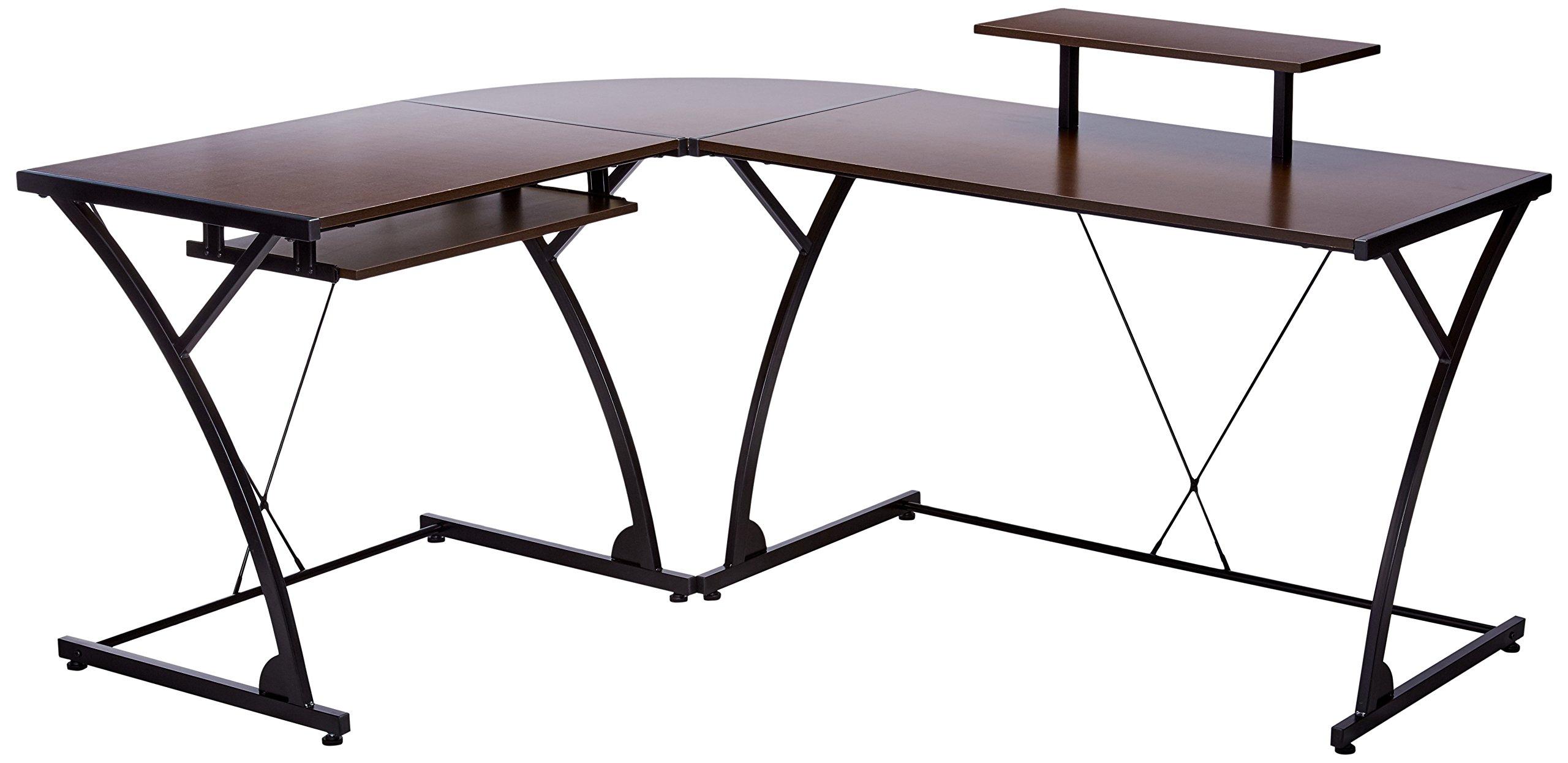Z-Line Designs Khloe L Desk, Brown