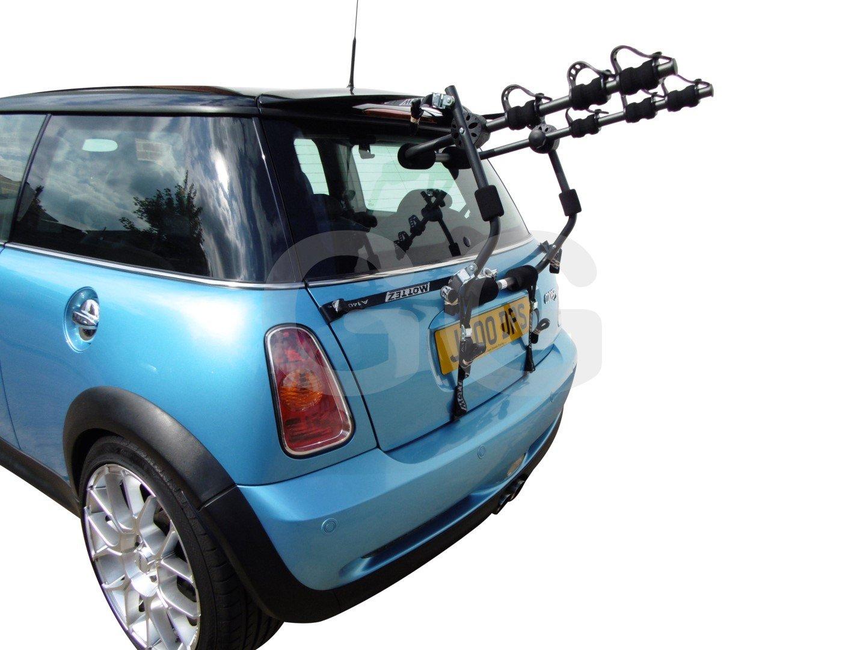 Cooper 2002-2014 per BMW Mini One Da auto per 3 bici per montaggio portabici posteriore