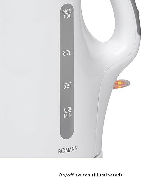 Bomann WK 5024 CB wei/ß Bouilloire Electrique