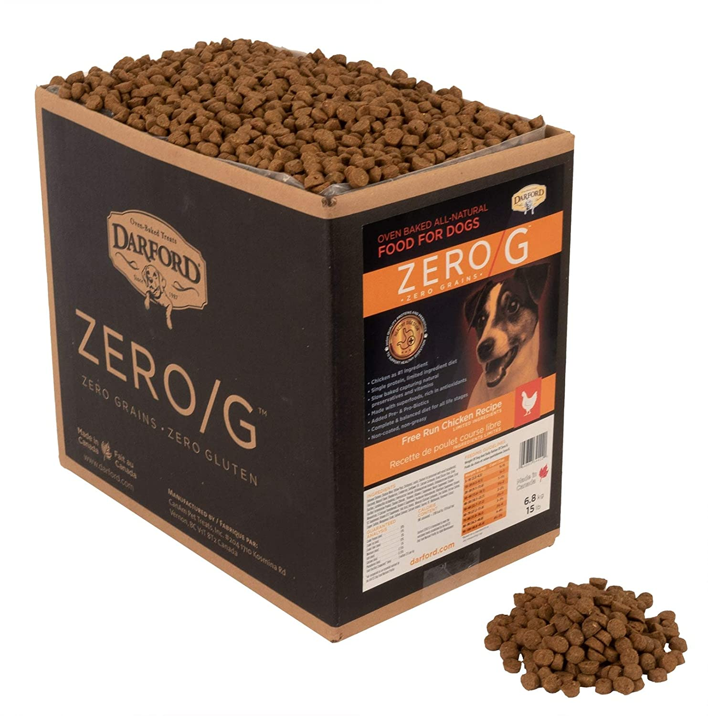 Zero/G Free Run Chicken Recipe Oven Baked Dog Food