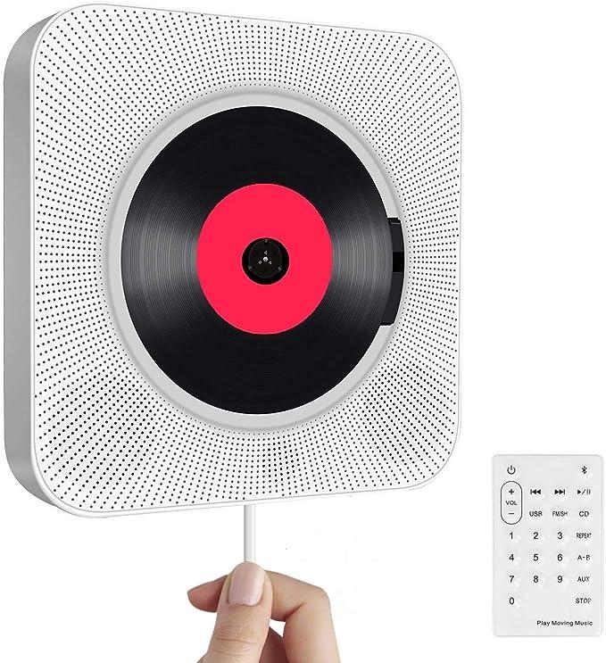 Portable CD Player with Bluetooth, Wall Mounted: Amazon.de: Elektronik