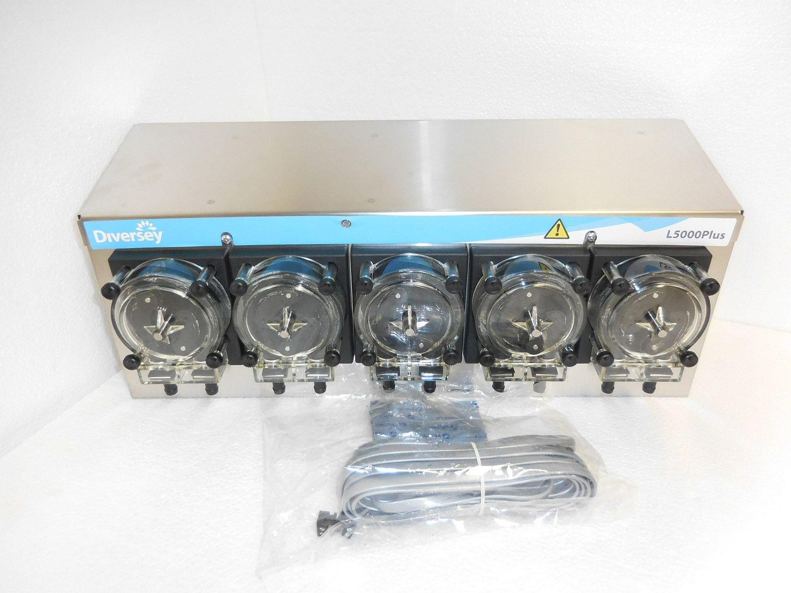 Diversey L5000 Plus Laundry Dosing System, 5 Pumps, New