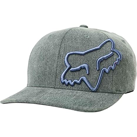 bb7fcb37484 Image Unavailable. Image not available for. Color  Fox Racing Youth Clouded  Flexfit Hat-Black