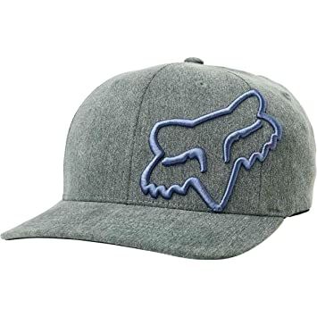 the best attitude c9290 098a7 Image Unavailable. Image not available for. Color  Fox Racing Youth Clouded Flexfit  Hat-Black