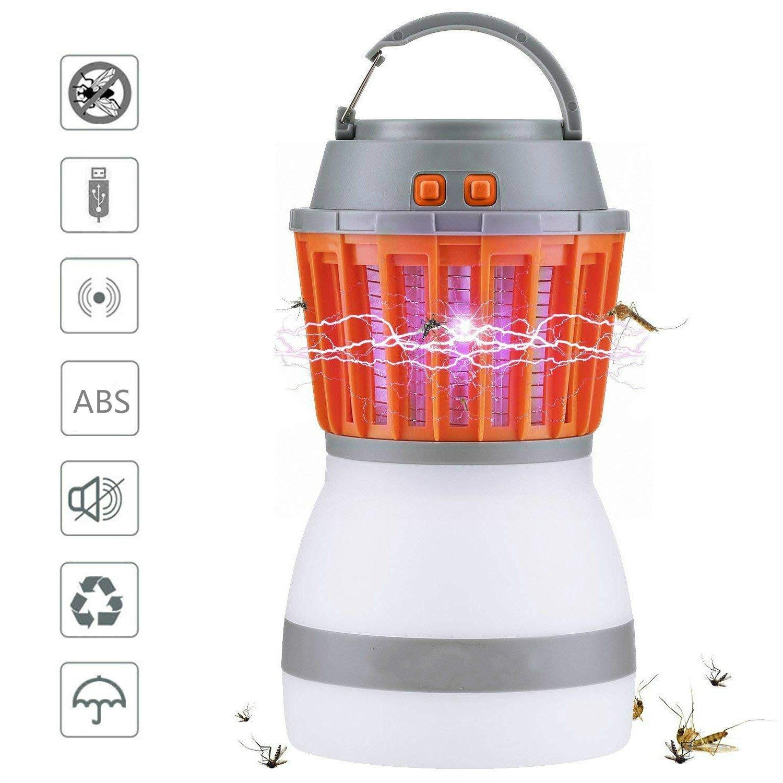 蚊キラーランプ キャンプランプ 電子モスキートキラー LED電球 忌虫飛行バグ 昆虫キラー B07CXSYF7W