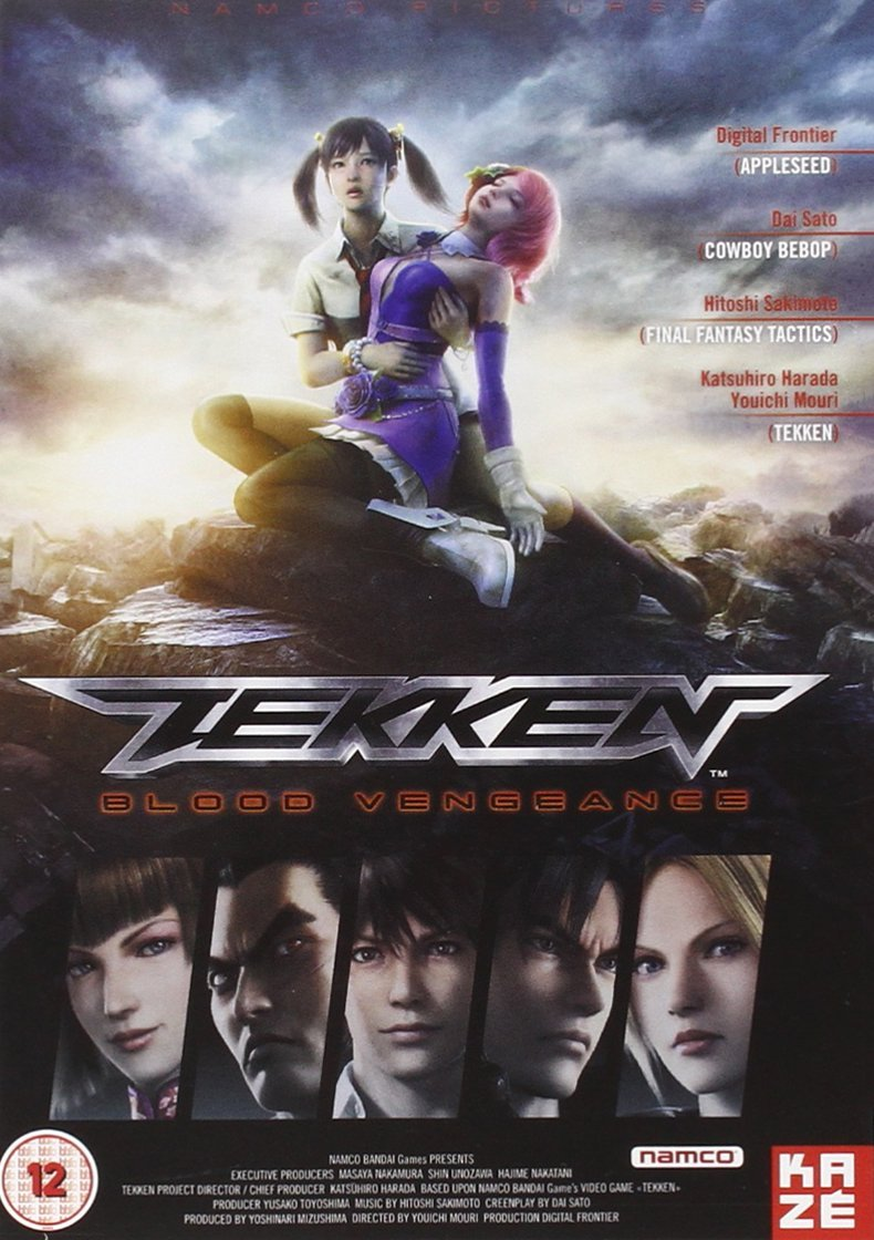 Amazon Com Tekken Blood Vengeance Movies Tv