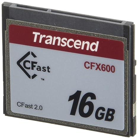 Transcend 16GB CFX600 CFast 2.0 Memoria Flash SATA MLC ...